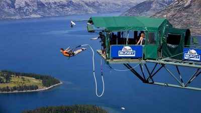 Exciting outdoor adventures include bungee jumping, zip-lining, hiking, and more!